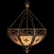 Castile 3 Light Inverted Pendant
