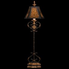 """Castile 41"""" H Table Lamp with Bell Shade"""