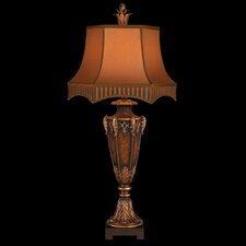 """Brighton Pavillion 40"""" H Table Lamp with Bell Shade"""