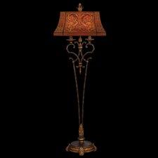 Brighton Pavillion 2 Light Floor Lamp