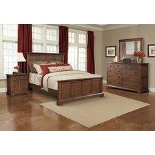 Retreat Cherry Panel Customizable Bedroom Set