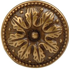 French Antique Mushroom Knob