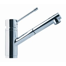 "9"" One Handle Single Hole Kitchen Faucet"