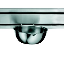 """Rail System 7"""" Kitchen Bowl in Stainless Steel"""