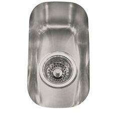 """13.38"""" x 7.5"""" Element Undermount Single Bowl Kitchen Sink"""