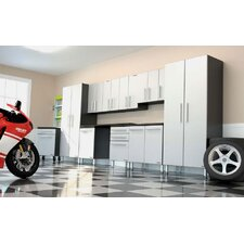 Garage PRO 17' W 11-Piece Storage Super System with Workstation