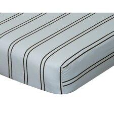 Baby Basics Striped Crib Sheet