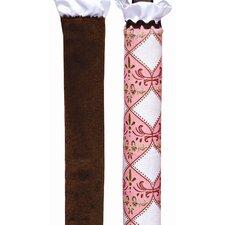 Pink Damask 2 Piece Wonder Bumper (Set of 2)