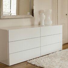 Aurora Dresser of 6 Drawers