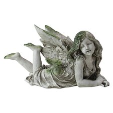 Laying Down Fairy Statue