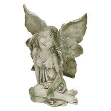 Sitting Dreamily Fairy Statue