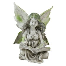 Reading Fairy Statue