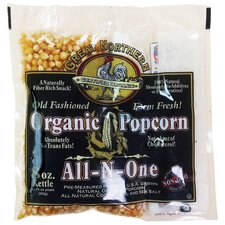 8 oz. Organic Old Fashioned Popcorn Portion Pack (Set of 18)