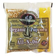 8 oz. Organic Movie Theater Popcorn Portion Pack (Set of 18)