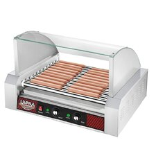 Commercial 11 Roller Grilling Machine with Cover