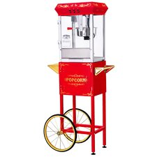 8 Oz. All Star Popcorn Machine & Cart