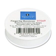 Fingertip Moistener, Odorless, Greaseless, Hygienic, 3/8 oz.