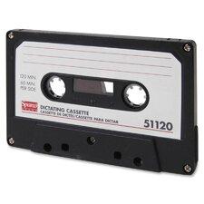 Dictation Cassette, Standard, 120 Minute