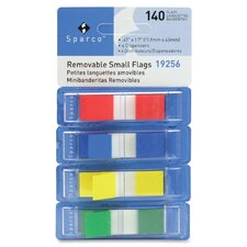 "Pop-up Removable Small Flag, 1/2"", 140/PK, Assorted"