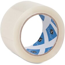 "Packaging Tape, 3"" Core, 3.0 mil, 2""x55 Yards, Clear"