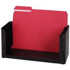 "Folder Holder, 5 Compartment, 12-1/2-15-3/4""x5-1/2""x6-1/8"", EY"