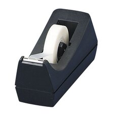 "Tape Dispenser, Desktop, Holds 1/2""-3/4""x36 Yds, 1"" Core, BL"
