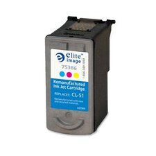 Replacement Ink Cartridge, Tri-Color, CL-51, 330/EA