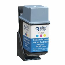 Inkjet Printer Cartridge, 350 Page Yield, Tricolor