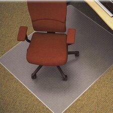 Medium/Plush Pile Carpet Beveled Edge Chair Mat