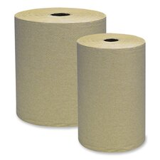 Embossed Hardwound Roll Towels - 12 Rolls per Box