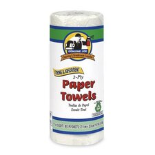 Household 2-Ply Paper Towels -  80 Sheets per Roll / 30 Rolls per Carton