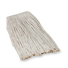Economy Cotton Mop Refills, 4-Ply, Good Absorption, White (Set of 2)