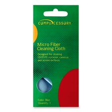 Compucessory Optical-grade Screen Cleaning Wipe, Blue (Set of 3)