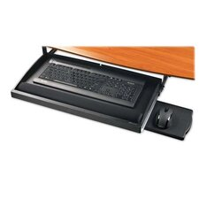Compucessory Underdesk Keyboard Drawer, Black