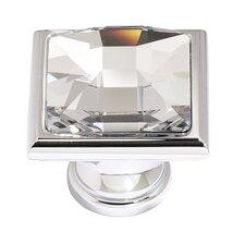 Swarovski Crystal Square Knob