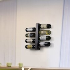 Blast Eight Bottle Wine Rack in Matte Blue