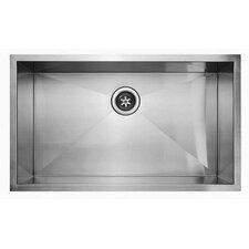 """32"""" x 19"""" Undermount Single Bowl Kitchen Sink"""