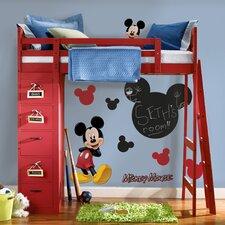 Mickey Chalkboard Wall Decal