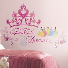 Deco Disney Princess Crown Giant Wall Decal