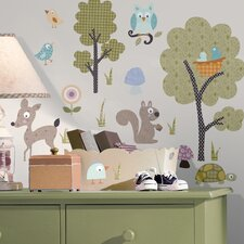 Studio Designs Woodland Animals Wall Decal