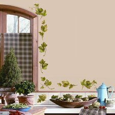 Room Mates Deco 26 Piece Evergreen Ivy Wall Decal