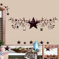 Room Mates Deco 40 Piece Country Stars and Berries Wall Decal