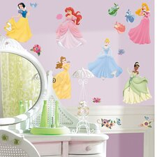 Licensed Designs Disney Princess Wall Decal Set
