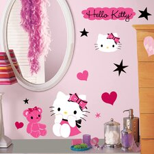 Popular Characters Hello Kitty Couture Wall Decal