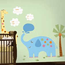 It's a Baby Giant Wall Decal Set