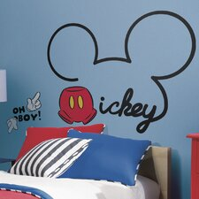 Mickey and Friends All About Mickey Giant Wall Decal