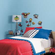 Popular Characters Marvel Superhero Kawaii Wall Decal