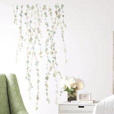 Bilyeu 10 Piece Hanging Vine Watercolor Wall Decal Set