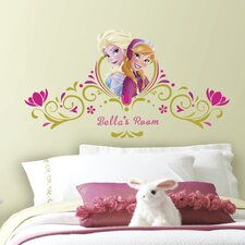 Popular Characters Frozen Spring Time Custom Headboard Peel and Stick Giant Wall Decal