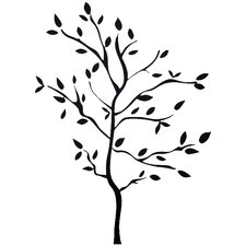 Room Mates Deco 60 Piece Tree Branches Wall Decal